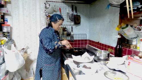 Cooking in a farmer's inn