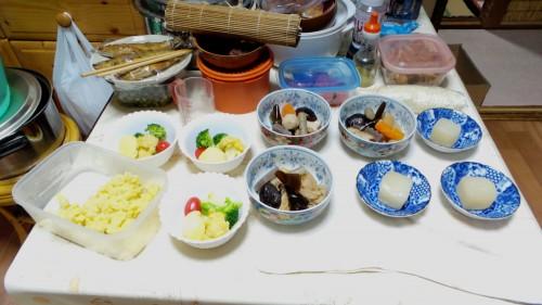 So many dishes !