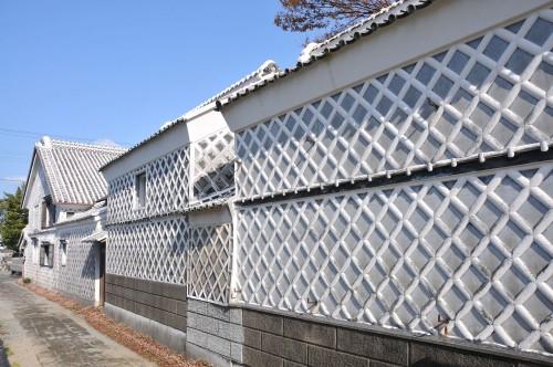 Bamako wall in Matsuzaki town, shizuoka prefecture