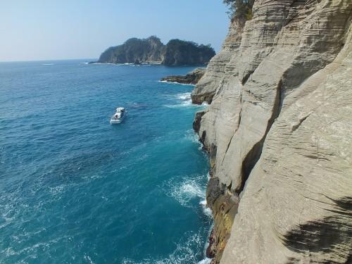 Tensodo blue cave by pleasure boat