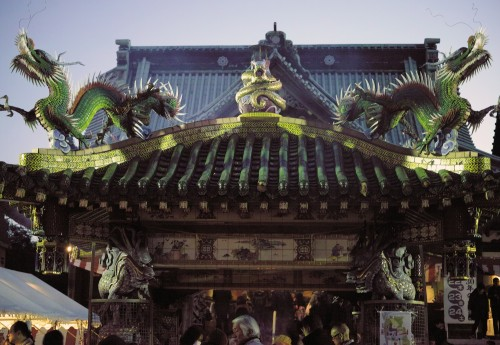 A temple in Yoshiwara