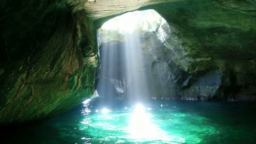 """The cave's name """"Tensodo"""" from """"Tenso"""" means """"Skylight""""."""