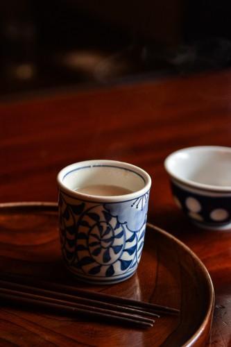 L'amazake, cette boisson énergisante servie à Amzake Chaya à Hakone