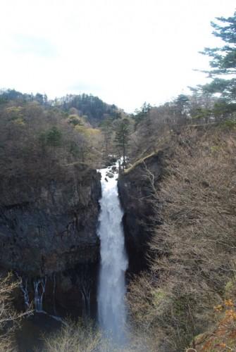 La nature à Nikko : la cascade de Kegon