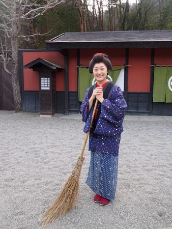 Le parc à thème Nikko Edomura à 30 minutes de Nikko, village de l'ère Edo.