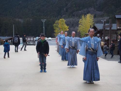 Spectacle à Nikko Edomura