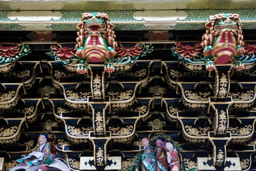 la porte Yomei-mon au sanctuaire Toshogu à Nikko