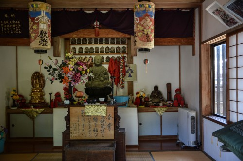 Les temples à Murakami dans la préfecture de Niigata au Japon