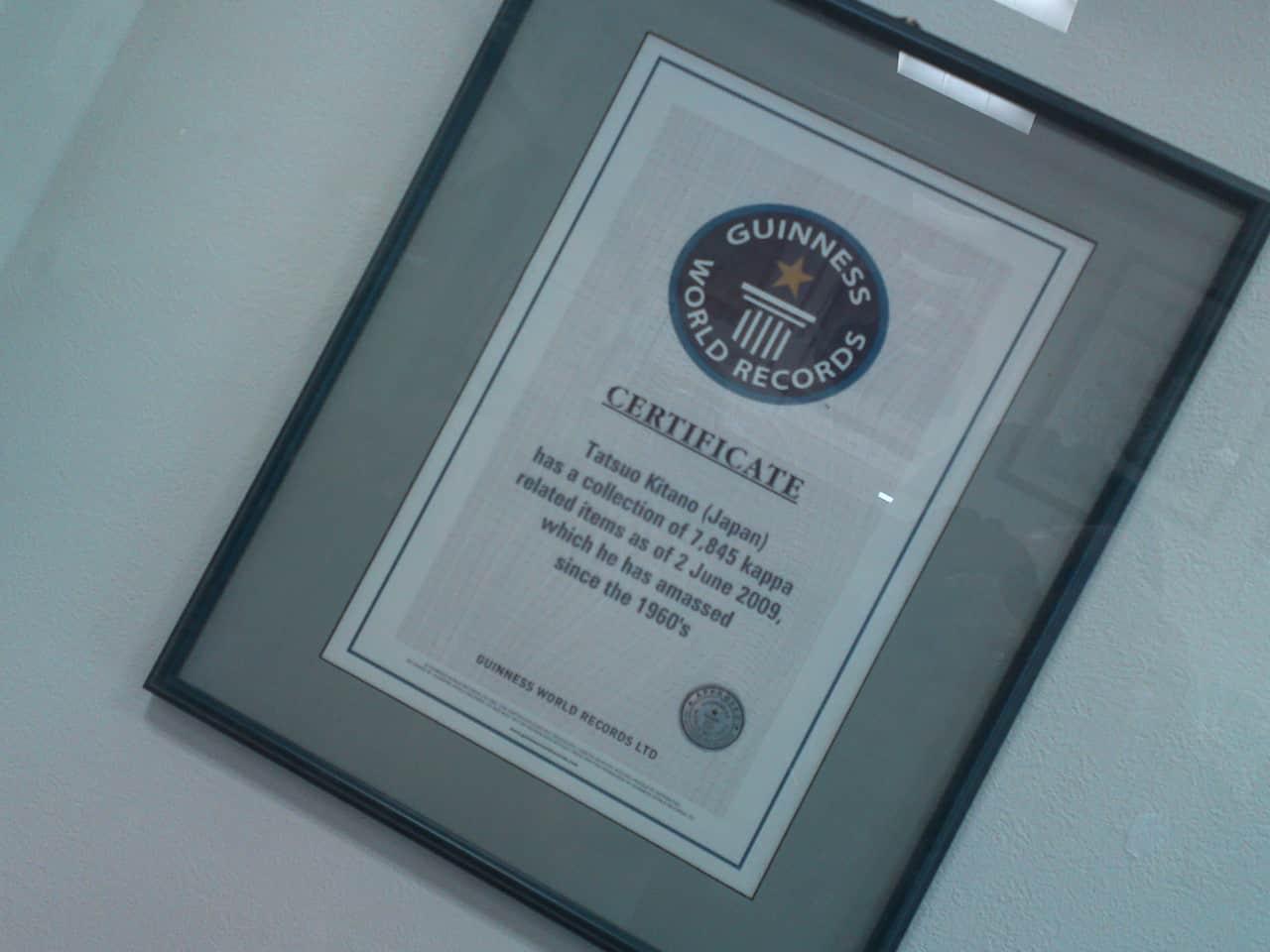 Collection de Kappa au Musée de Kappa de Tach-chan's dans la Ville de Yaizu avec le certificat