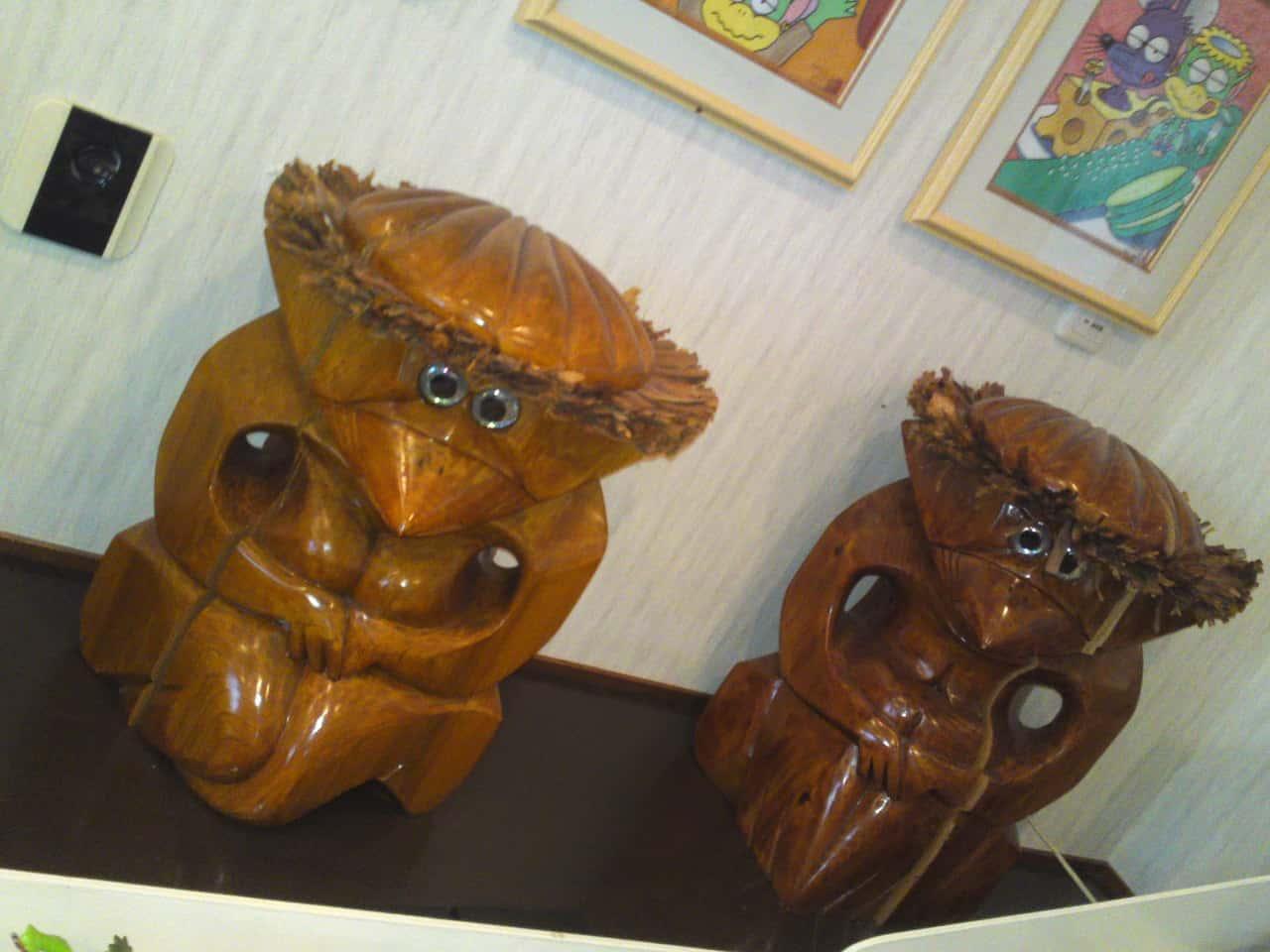 SCollection de Kappa au Musée de Kappa de Tach-chan's dans la Ville de Yaizu, ceux de la préfecture d'Iwate