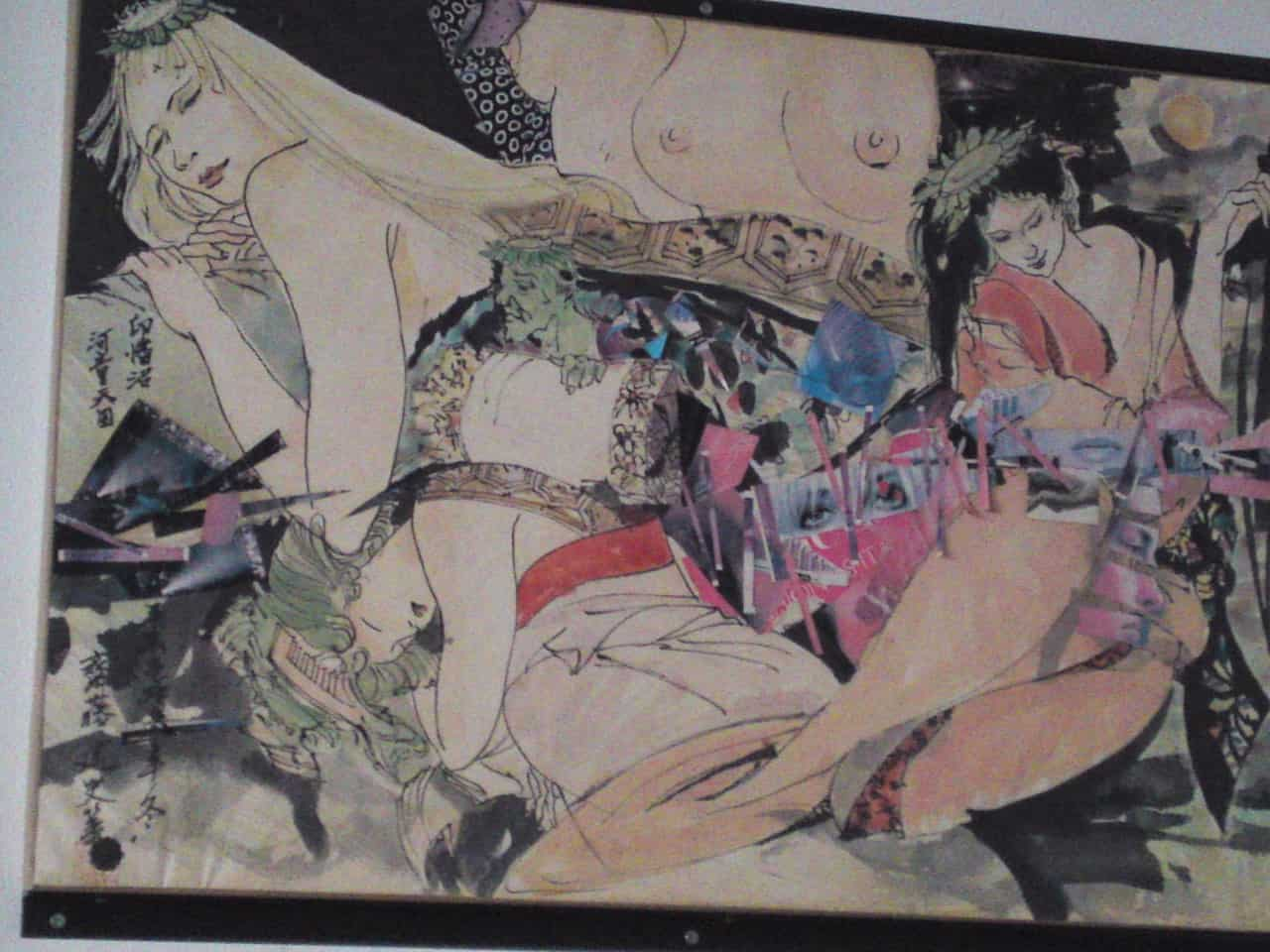 Collection de Kappa au Musée de Kappa de Tach-chan's dans la Ville de Yaizu