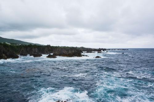 Senkakuwan Bay, un des plus beaux paysages naturels de l'île de Sado dans la préfecture de Niigata