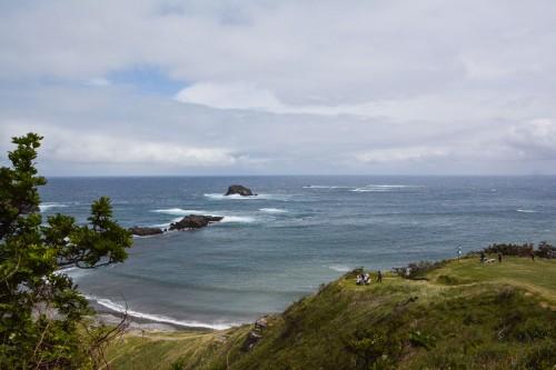 Futatsugame, l'un des plus beaux paysages naturels de l'île de Sado dans la préfécture de Niigata