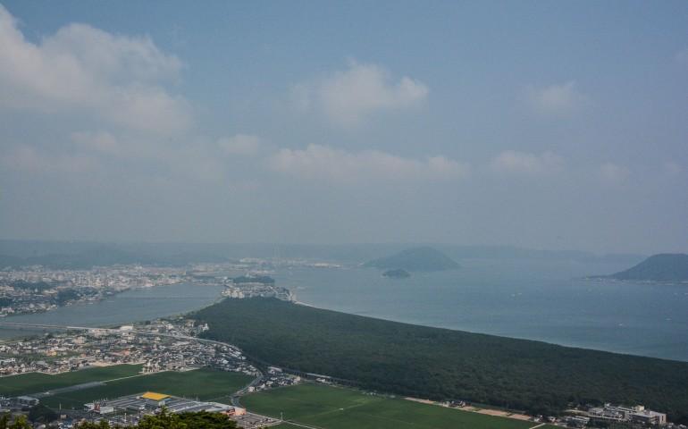 L'observatoire kagamiyama à Karatsu dans la préfécture de Saga