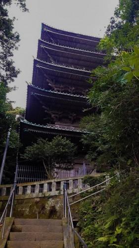 Le temple Ryûkô-ji tout près de Kamakura et Enoshima