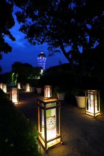 Un mois d'août spectaculaire avec le Festival des Lanternes d'Enoshima