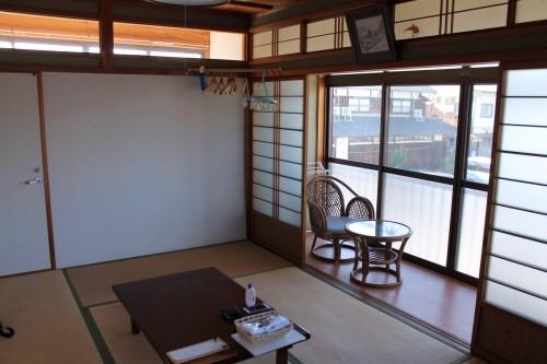 la chambre au minshuku Tokiokaso