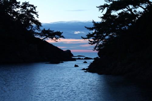 Couche de soleil à Wakasa Takahama