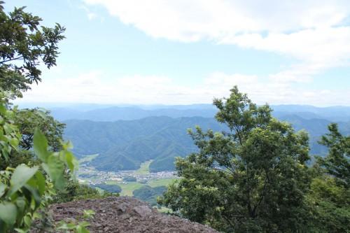 Au sommet du mont Aoba à Wakasa Takahama avec la belle vue