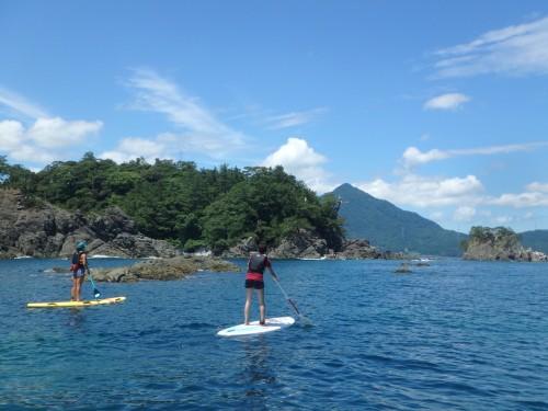 Faire du paddle sur la mer du Japon à Wakasa Takahama