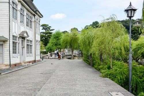 visite du quartier historique de Kurashiki, le Bikan avec l'office du tourisme