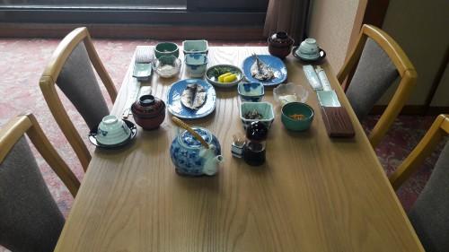 The Iwamotoro's meal in Enoshima island, Kanagawa prefecture, Japan.