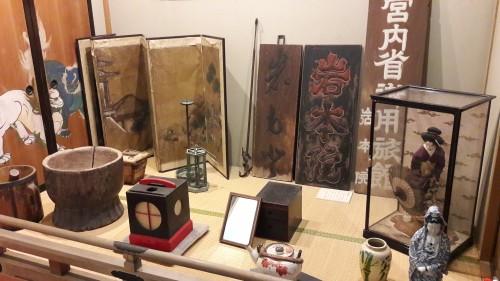 The Iwamotoro's museum in Enoshima island, Kanagawa prefecture, Japan.