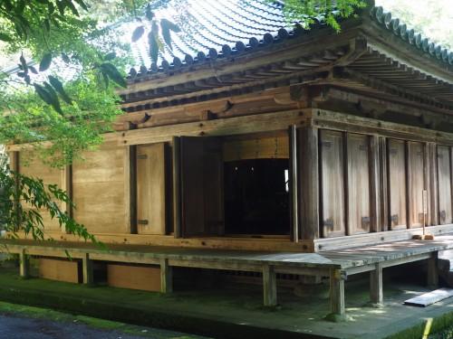 Visite du temple Fukiji, tout près des rizières de Tashibunoshou à Oita, Kysushu