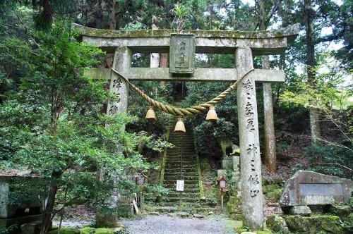 Grand torii à Futagoji, dans la péninsule de Kunisaki, Oita, Kyushu