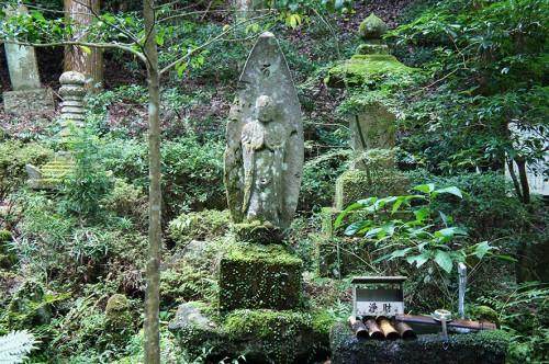 Grande statue bouddhiste, dans la péninsule de Kunisaki, Oita, Kyushu