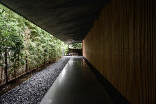 Nezu Museum Kengo Kuma, versteckt in Tokios Omotesendo Bezirk, Tokio, Kanto, Japan