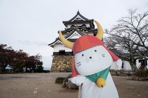 Château de Hikone, ère Edo, Japon, Histoire, Lac Biwa, Hikonyan
