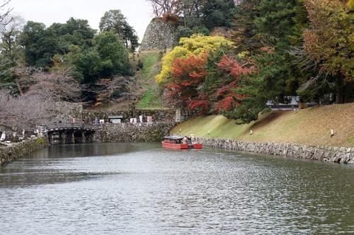 Château de Hikone, ère Edo, Japon, Histoire, Lac Biwa, Hikonyan, Douves