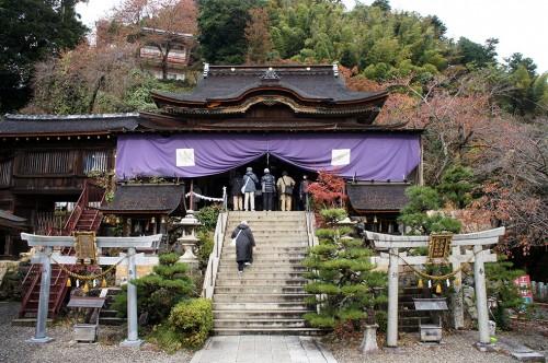Chikubu-shima, Hikone, île sacrée, lac Biwa, Shiga, Tsukubuma