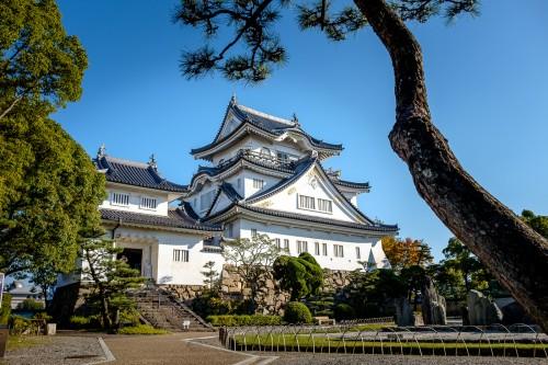 Kishiwada, Osaka, Kansaï, château japonais