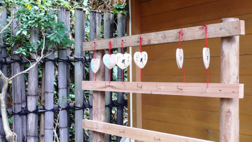Temple Daikozenji, azalées, momiji, saga, kyushu, ema
