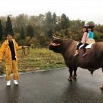 Tsunotsuki: la culture de la tauromachie japonaise à Yamakoshi