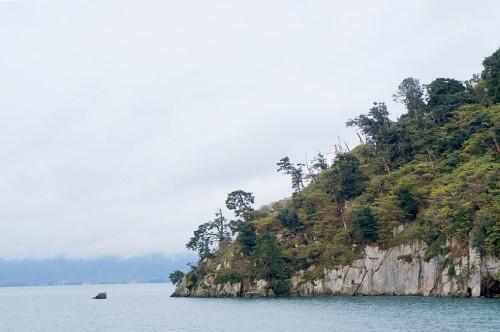 Chikubu-shima, Hikone, île sacrée, lac Biwa, Shiga, Chikubujima