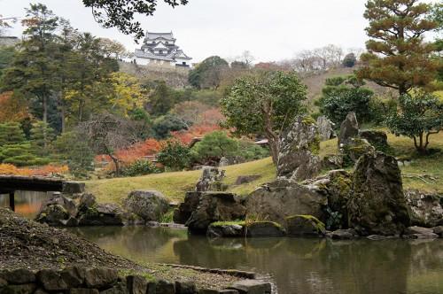 Château de Hikone, ère Edo, Japon, Histoire, Lac Biwa, Hikonyan, jardin Genkyu-en