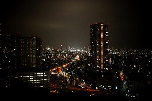 Sunshine City Prince Hotel, Ikebukuro, Tokyo, vue