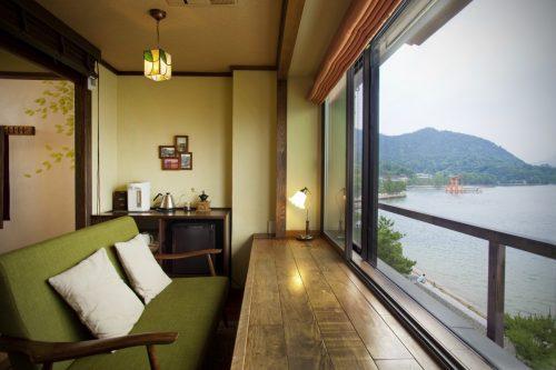 Mer intérieure de Seto, Hôtel avec vue, Luxe, Setouchi, Kinsuikan
