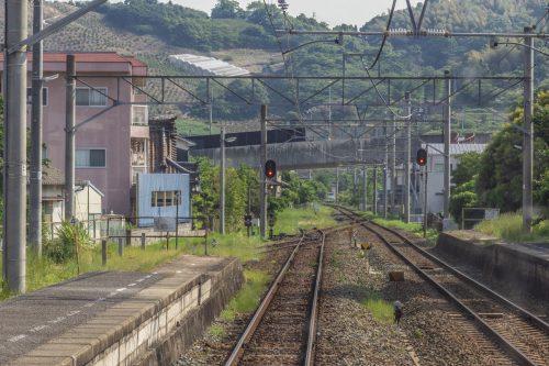 Trajet en train pour rejoindre la Shimanami Kaido, dans la région de Setouchi au Japon