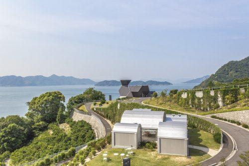 Musée d'architecture Toyo Ito le long de la Shimanami Kaido, dans la région de Setouchi au Japon