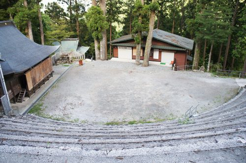 Le sanctuaire Akiba dans la préfecture de Kochi, Japon