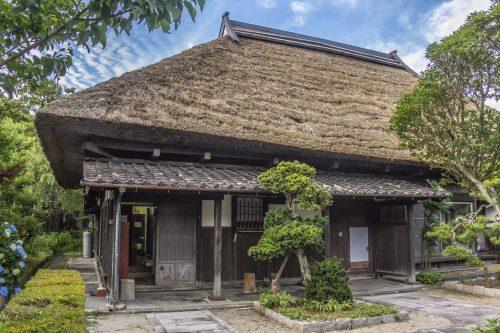 L'auberge Goushikan près de Murakami dans la préfecture de Niigata, Japon