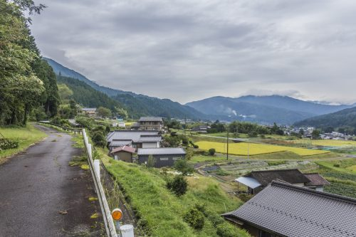 Near Nakatsugawa, Gifu Prefecture, Japan