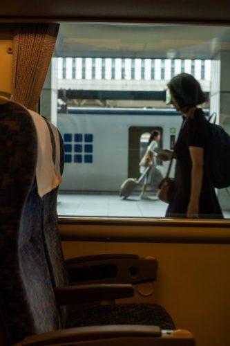 À bord du Hashidate Express pour se rendre à Takahama, Fukui, Japon