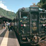 A bord du Limited Express Kawasemi Yamasemi