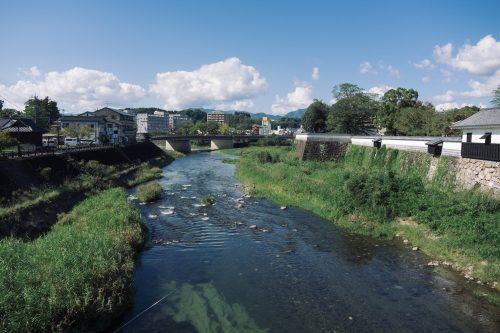 Petite ville d'Hitoyoshi, préfecture de Kumamoto, Kyushu, Japon