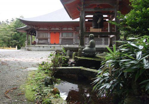 Temple Daisenji, au pied du Mt Daisen, préfecture de Tottori, Japon
